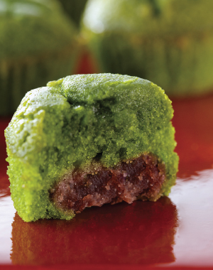 """Midorinotama"" Green Powdered Tea cake"